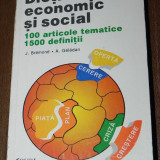 J BREMOND, A GELEDAN - DICTIONAR ECONOMIC SI SOCIAL