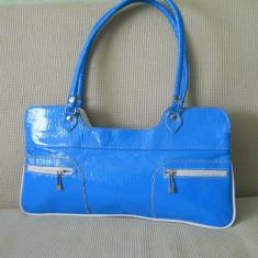 geanta dama bleu