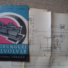 Strunguri Revolver P Vrteli G Winter carte strung tehnica mecanica planse desene, Alta editura