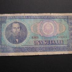 100 lei 1966 E0121 - Bancnota romaneasca