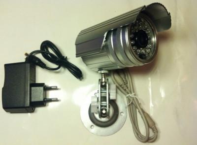 "CAMERA CAMERE DE SUPRAVEGHERE exterior/interior CCD Sony. Infrarosu Suport  Alimentator Camera de supraveghere cu senzor SONY 1/3"". lentila 3,6mm. foto"