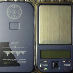 CANTAR Mini BIJUTERII de precizie cu 2 zecimale 0.01g (de buzunar)