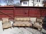 Canapea si pereche fotolii, stil BAROC