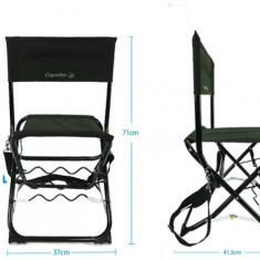 Scaun Pliabil Cu Suport Undita Incorporat (CEL MAI IETIN) - Mobilier camping