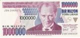 Bancnota Turcia 1.000.000 Lire (1995) - P209 UNC (valoare catalog $20)