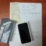 iPhone 4 Apple 16 GB, impecabil, fara nici o zgarietura, factura + garantie 7 luni, unicproprietar, cumparat din orange romania., Negru