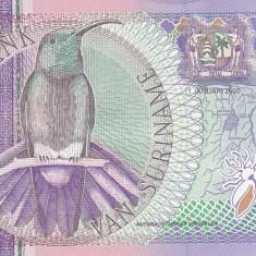 Bancnota Suriname 10 Gulden 2000 - P147 UNC - bancnota america