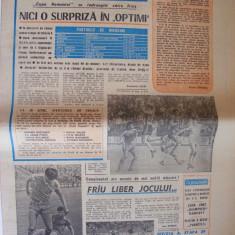 SPORTUL SUPLIMENT FOTBAL ANUL III - NR. 109, 29 mai 1987 4 pag.(articol