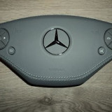 Mercedes S-Class W221 facelift, Airbag piele gri