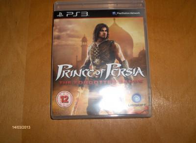 PRINCE OF PERSIA THE FORGOTTEN SANDS PS3, JOC PS 3 SH ORIGINAL foto
