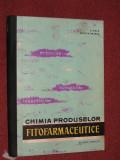 CHIMIA PRODUSELOR FITOFARMACEUTICE - CONSTANTIN POPA , RODICA DRIMUS