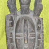 MASCA COASTA DE FILDES - tribul SENUFO - DIN LEMN REDUCERE!!! DE LA 900 LEI - Arta din Africa
