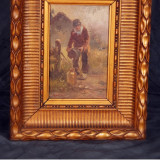 Pictura in ulei pe panza - Pictor roman