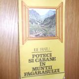 POTECI SI CABANE IN MUNTII FAGARASULUI  --  Ilie Fratu -- [ 1986, 223 p.]