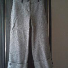 Pantaloni trei sferturi - Pantaloni dama, Marime: 34, Culoare: Din imagine, Lana