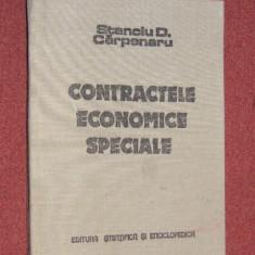 Stanciu D. Carpenaru - Contractele economice speciale - Carte Drept comercial