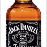 STICLA GOALA CU DOP WHISKY JACK DANIELS   , 700 ML , IMPECABILA !