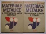 Alexandru Domsa, Serban Domsa - Materiale metalice in constructia de masini si instalatii (vol. I-II)