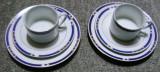 Set / Serviciu -  mic dejun - portelan Bavaria - MF Design  - 1990