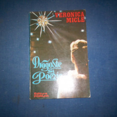 DRAGOSTE SI POEZIE VERONICA MICLE, 1992