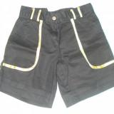Pantalon scurt, Negru, Marime M - Pantaloni dama, Marime: M, Scurti, Bumbac
