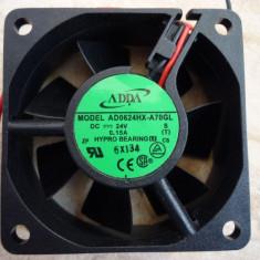 LOT 3 VENTILATOARE COOLER MARCA ADDA, ALIMENTARE LA 24VDC, PC, COMPUTER - Cooler PC