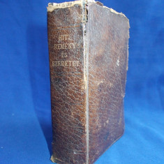 CARTE VECHE DE RUGACIUNI IN LIMBA MAGHIARA / KATHOLIKUS IMADSAGOS ES ENEKESKONYV / VIMPERK / IMPRIMATUR ORDINARIATUS EPISCOPALIS / 1914 - Carte in maghiara