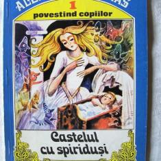 CASTELUL CU SPIRIDUSI, Alexandre Dumas, 1993. Ilustratii Done Stan. Absolut noua - Carte Basme