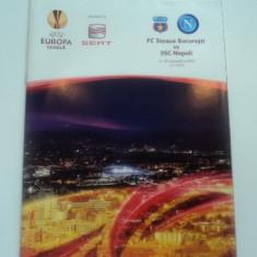 Program fotbal STEAUA Bucuresti - SSC NAPOLI 30.09.2010