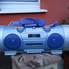 Super woofer cd radio cassette system
