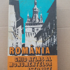 Romania Ghid Atlas Al Monumentelor Istorice, autor Vasile Cucu Marian Stefan