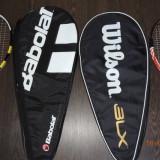 Vand palete de tenis originale Babolat si Wilson+ mingi tenis - Paleta ping pong