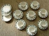 Set / Serviciu ceai / cafea - portelan China - 8 persoane - marcat