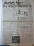 ROMANIA LIBERA - VINERI 2 MARTIE 1945 - REDACTOR GRIGORE PREOTEASA - CARICATURI NELL COBAR