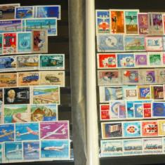Lot 100 timbre ro stampilate 1960-2000 - TEHNIC COSMOS - 2+1 gratis toate licitatiile - RBK2536