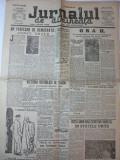 JURNALUL DE DIMINEATA - VINERI 7 IUNIE 1946 - DIRECTOR  TUDOR TEODORESCU BRANISTE - DESEN DE ISER