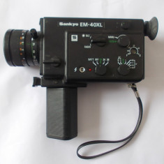 CAMERA SANKYO EM-40XL SUPER 8 mm JAPAN .