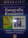 Dumitru Marc , Rodica-Ana Dan , Dana-Ioana Schell - Geografia Romaniei: sinteze, teste propuse, modele de rezolvare