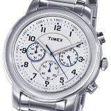 CEAS TIMEX Chronograph Model T2N167AJ Milan Classic Series, 5 ATM, se vinde la pret minim !! - Ceas barbatesc Timex, Sport, Quartz, Inox, Cronograf
