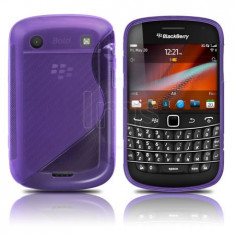 husa silicon  mov antiradiatii blackberry 9900 9930