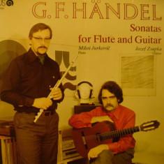 G.F. HANDEL - SONATE PENTRU FLAUT SI GHITARA