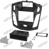 Rama adaptoare Ford Focus,negru, 2 DIN, cu sertar