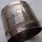 Suport pentru servetele personalizat, marcat Gab.NS, Ornamentale