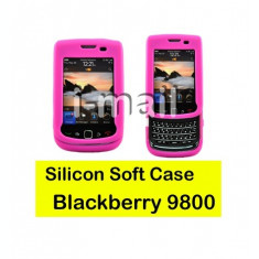 husa roz  silicon slide Blackberry Torch 9800