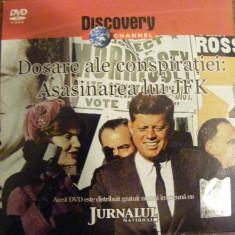 DVD DISCOVERY ASINAREA LUI JFK - Film documentare, Romana