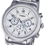 CEAS TIMEX Chronograph Model T2N167AJ Milan Classic Series, 5 ATM, model deosebit - Ceas barbatesc