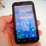 Vand/schimb Motorola Defy - Telefon mobil Motorola Defy, Negru, 2GB, Neblocat, Single core, 512 MB