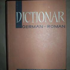 Dictionar german-roman(140.000 DE CUVINTE)