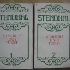 Stendhal - Memoriile unui turist - 2 volume - Roman, Anul publicarii: 1986