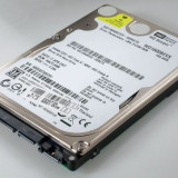 HDD Laptop SATA 160 Gb Western Digital WD1600BEVS defect, 100-199 GB, Rotatii: 5400, 8 MB